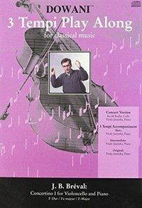 Breval - Concertino I in F Major: For Violoncello and Piano (Hardcover)