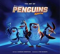 The Art of the Penguins of Madagascar (Hardcover)