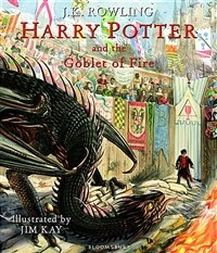 Harry Potter and the Goblet of Fire : Illustrated Edition (Hardcover)