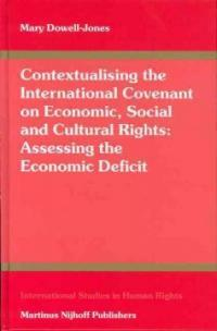 Contextualising the international covenant on economic, social and cultural rights : assessing the economic deficit