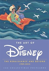 The Art of Disney: The Renaissance and Beyond (1989 - 2014) 100 Collectible Postcards (Disney Postcards, Cute Postcards for Mailing, Fun (Other)