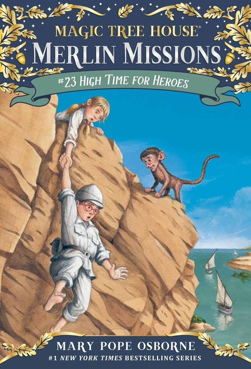 Merlin Mission #23 : High Time for Heroes (Paperback)