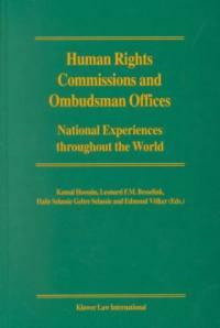 Human rights commissions and ombudsman offices: national experiences throughout the world