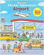My First Sticker Adventure Airport (Paperback)