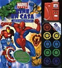 Heroes de cine / Marvel Heroes Movie Theater Storybook (Hardcover, INA, NOV, HA)