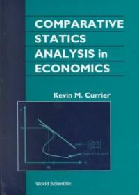 Comparative Statics Analysis in Economics (Hardcover)