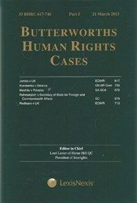 Butterworths human rights cases