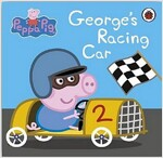 Peppa Pig: George's Racing Car (Board Book)