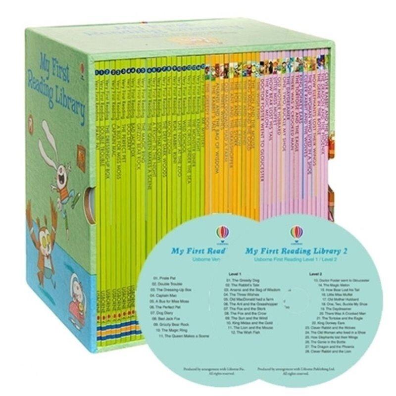 어스본 리딩 1단계 : Usborne My First Reading Library 50종 세트 (Paperback 50권 + CD 2장)