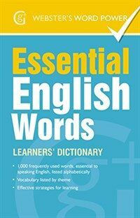 Essential English Words : Learners' Dictionary (Paperback)