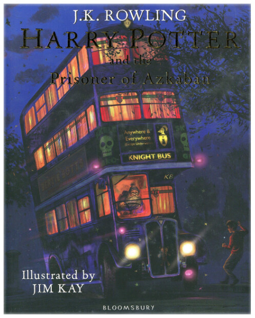 Harry Potter and the Prisoner of Azkaban : Illustrated Edition (Hardcover)