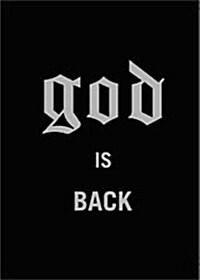 [중고] 지오디 - God Is Back (3disc + 포토북)