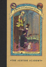 A Series of Unfortunate Events #5: The Austere Academy (Hardcover, Deckle Edge)