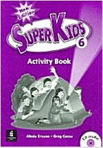 New Super Kids 6 (Activity Book + CD 1장)