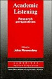 Academic listening : research perspectives