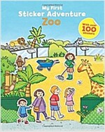 My First Sticker Adventure Zoo (Paperback)