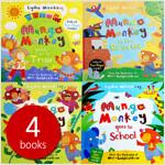 Mungo Monkey 4권 세트 (Novelty Book)