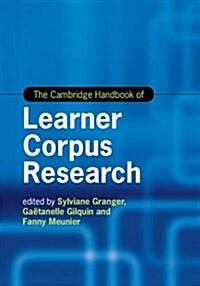 The Cambridge Handbook of Learner Corpus Research (Hardcover)