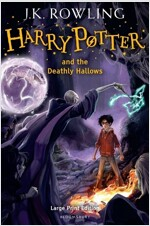 Harry Potter and the Deathly Hallows (Hardcover, Large type / large print ed)