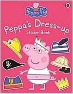 Peppa Pig: Peppa Dress-Up Sticker Book (Paperback)