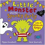 Little Monster and the Spooky Party (Novelty Book)
