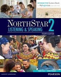 Northstar Listening and Speaking 2 with Interactive Student Book Access Code and Myenglishlab (Paperback, 4)