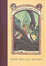 A Series of Unfortunate Events #2: The Reptile Room (Hardcover, Deckle Edge)
