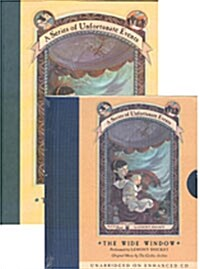 A Series of Unfortunate Events #03: The Wide Window (Hardcover + CD)
