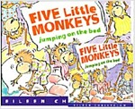노부영 Five Little Monkeys Jumping on the Bed (원서 + CD) (Boardbook + CD, New Edition)