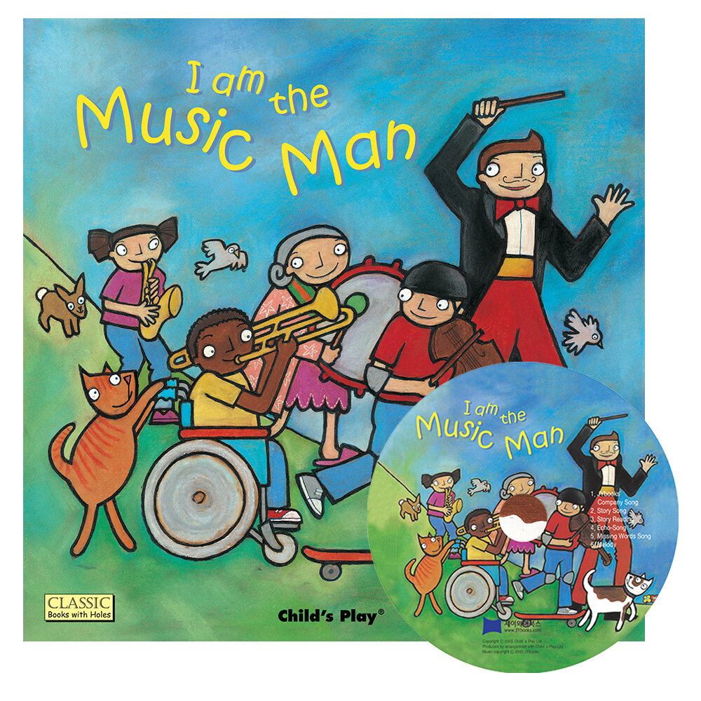 노부영 마더구스 세이펜 I Am the Music Man (Paperback + CD) (Paperback + CD)