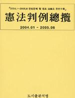 憲法判例總攬 : 2004.01 - 2005.06