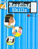 Reading Skills: Grade 4 (Flash Kids Harcourt Family Learning) (Paperback)