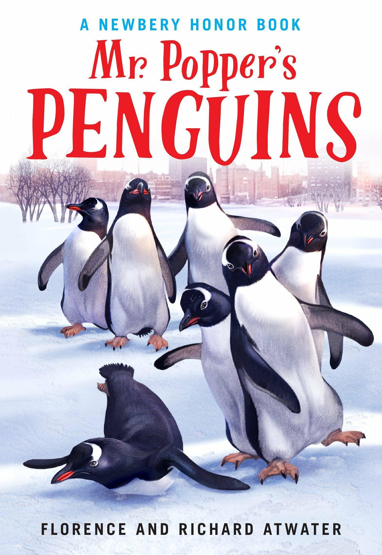 Mr. Poppers Penguins (Paperback)