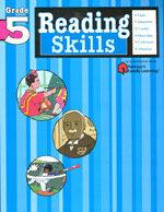Reading Skills: Grade 5 (Flash Kids Harcourt Family Learning) (Paperback)