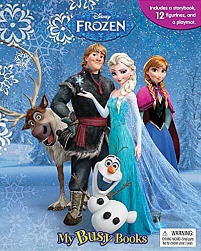 Disney Frozen My Busy Book 겨울왕국 비지북 (미니피규어 10개 + 놀이판)