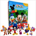 My Busy Book : Mickey Mouse Clubhouse 미키마우스 클럽하우스 비지북 (미니피규어 12개 + 놀이판)