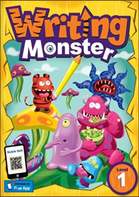 Writing Monster 1 Student Book (with portfolio book) (Paperback)