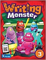 Writing Monster 3 Student Book (with portfolio book) (Paperback)