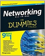 Networking All-In-One for Dummies (Paperback, 6, Revised)