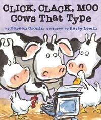 Click, Clack, Moo: Cows That Type (Board Books)