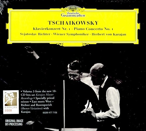 [수입] 차이코프스키 : 피아노 협주곡 1번 & 로코코 변주곡
