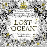 [중고] Lost Ocean: An Inky Adventure and Coloring Book for Adults (Paperback)