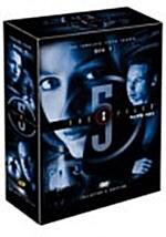 엑스 파일 시즌 5 박스세트(6disc)