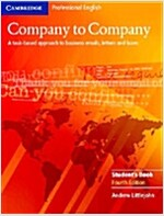 Company to Company Student's Book (Paperback, 4 Revised edition)