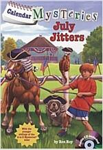 Calendar Mysteries #7: July Jitters (Paperback + CD)