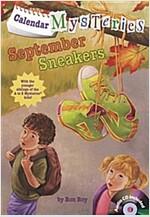 Calendar Mysteries #9: September Sneakers (Paperback + CD)