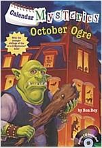 Calendar Mysteries #10: October Ogre (Paperback + CD)