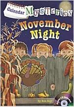 Calendar Mysteries #11: November Night (Paperback + CD)