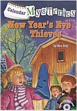 Calendar Mysteries #13: New Year's Eve Thieves (Paperback + CD)