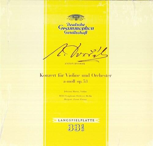 [수입] 드보르작 : 바이올린 협주곡 [180g LP]